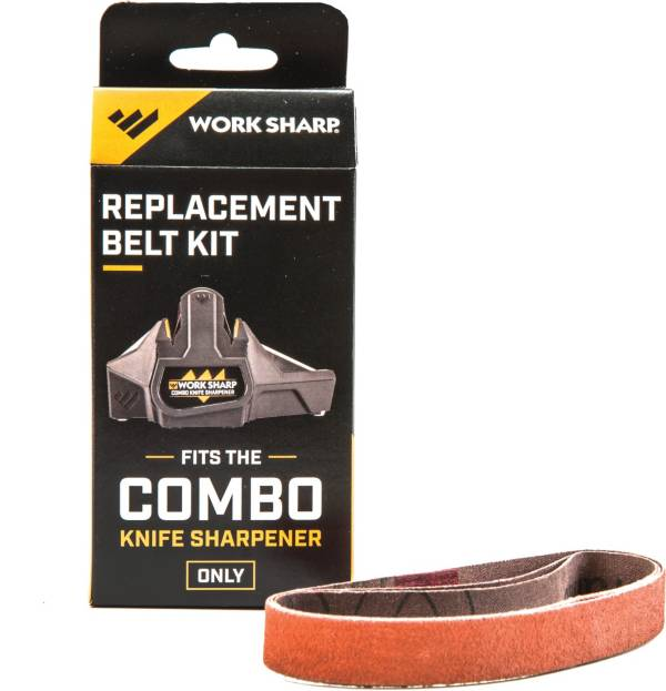 "Work Sharp Combo Knife Sharpener Replacement Belt Kit – P120 ½"" x 10"" product image"