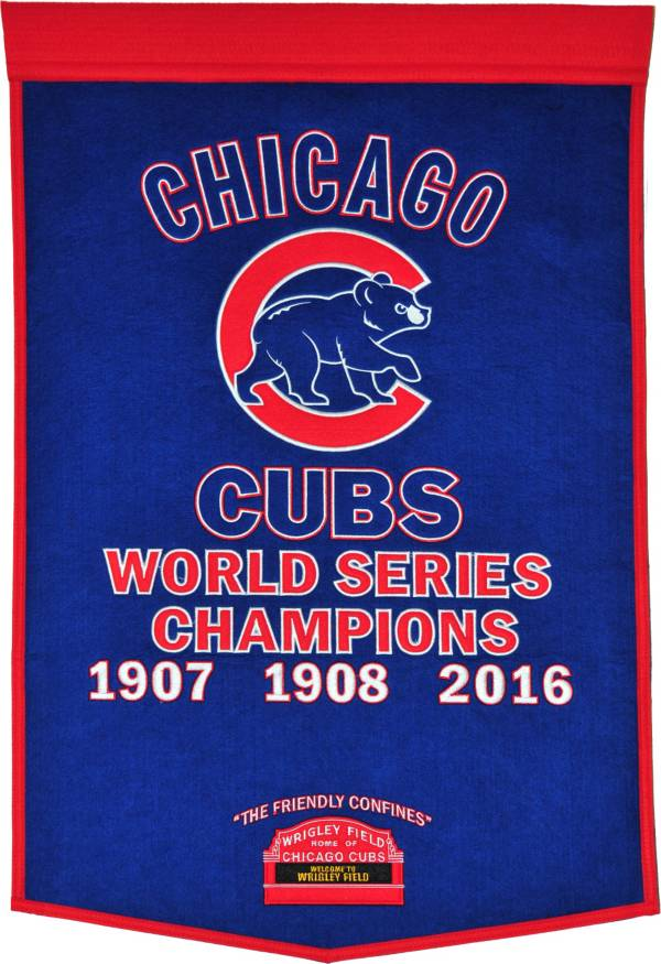2016 World Series Champions Chicago Cubs Dynasty Banner product image
