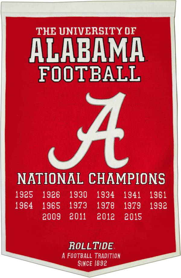 Alabama Crimson Tide Football National Champions Banner product image