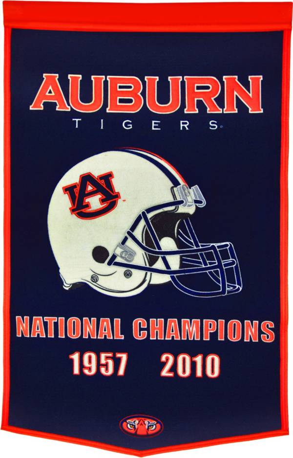 Auburn Tigers Football National Champions Banner product image