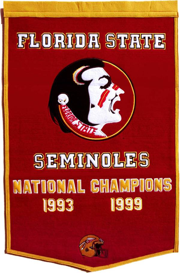 Florida State Seminoles Football National Champions Banner product image