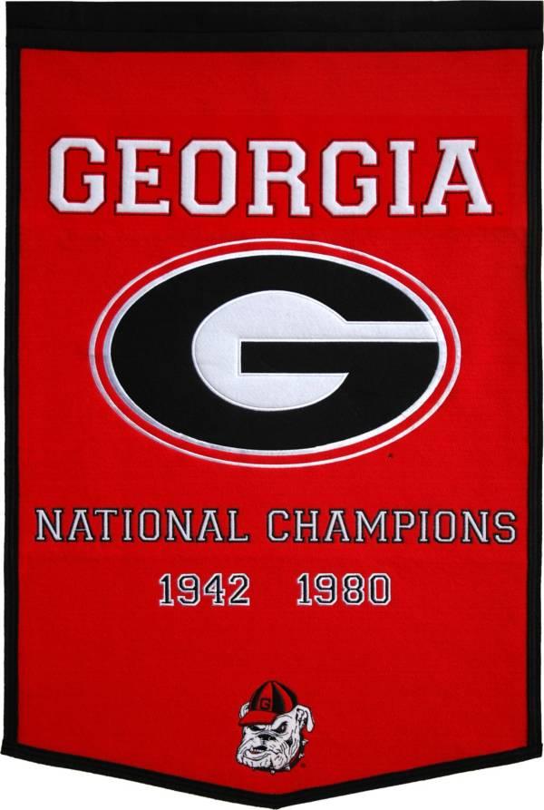 Georgia Bulldogs Football National Champions Banner product image