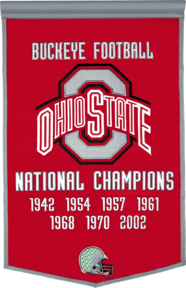 Ohio State Buckeyes Football National Champions Banner product image