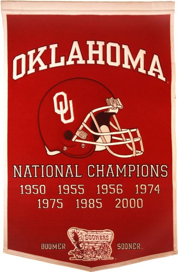 Oklahoma Sooners Football National Champions Banner product image