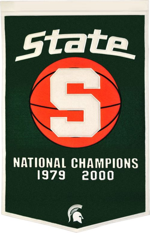 5b3ac58e Michigan State Spartans Basketball National Champions Banner. noImageFound.  1