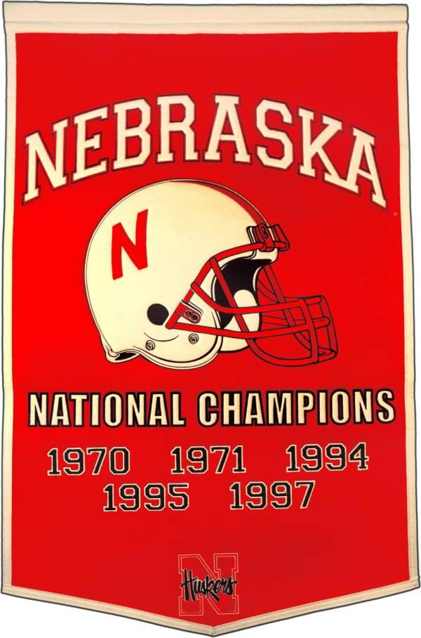 Nebraska Cornhuskers Football National Champions Banner product image