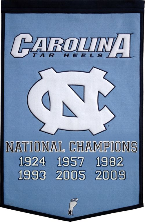 db452baed7 North Carolina Tar Heels Basketball National Champions Banner.  noImageFound. 1