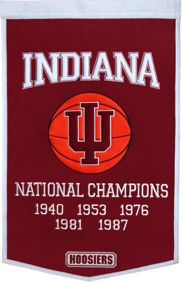 Indiana Hoosiers Basketball National Champions Banner product image