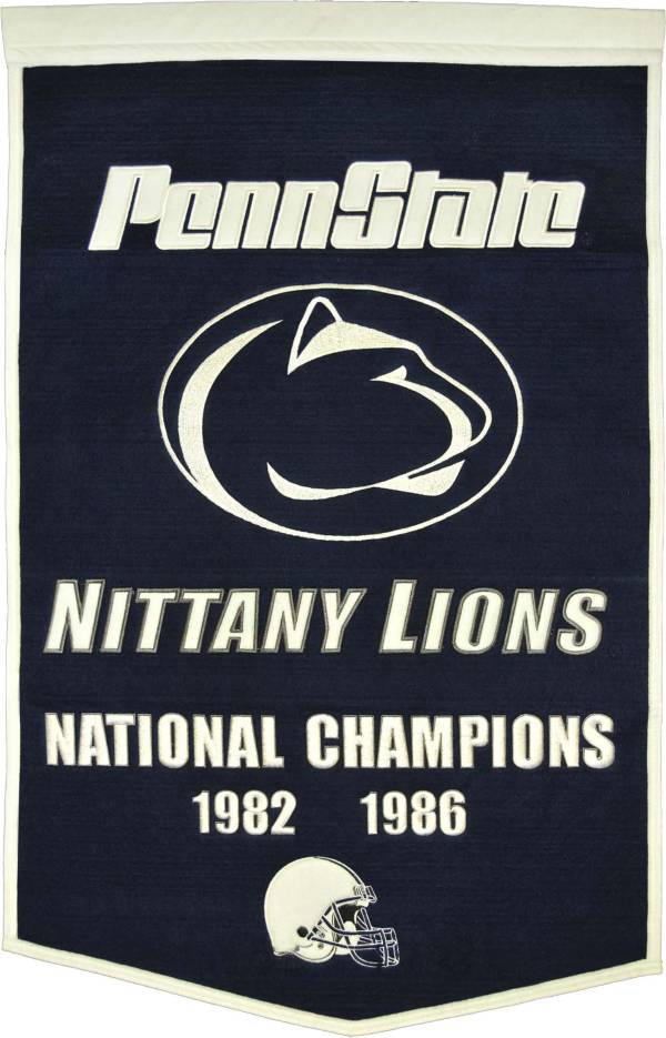 Penn State Nittany Lions Football National Champions Banner product image