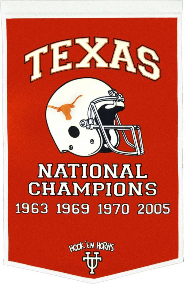 Texas Longhorns Football National Champions Banner product image