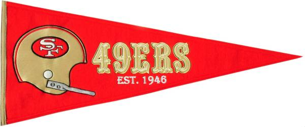 San Francisco 49ers Throwback Pennant product image