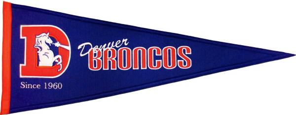 Denver Broncos Throwback Pennant product image