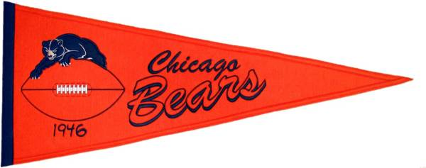 Chicago Bears Throwback Pennant product image