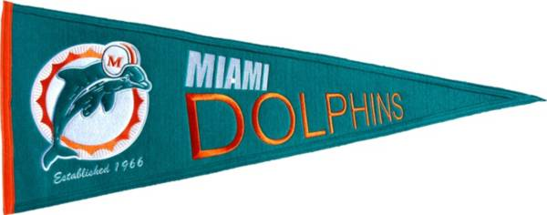 Miami Dolphins Throwback Pennant product image