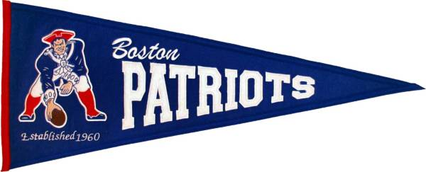 New England Patriots Throwback Pennant product image