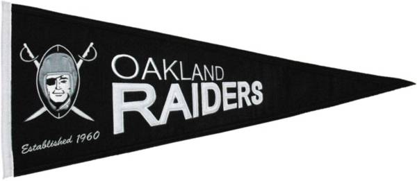 Oakland Raiders Throwback Pennant product image
