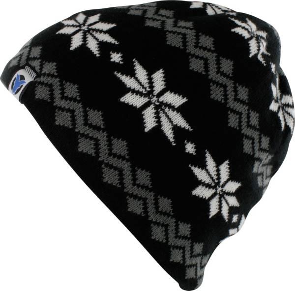 Yaktrax Women's Cozy Large Snowflake Beanie product image