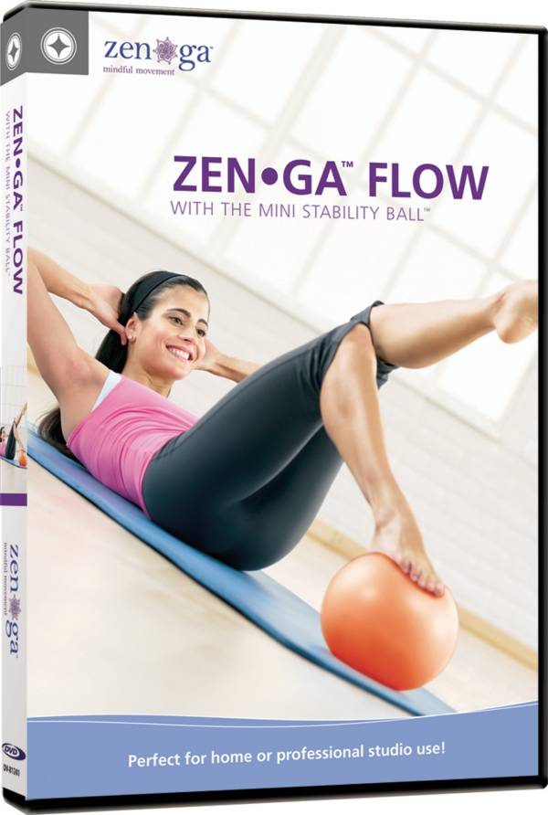 ZEN•GA FLOW with Mini Stability Ball DVD product image
