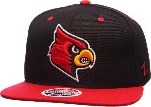5842e0fd Zephyr Men's Louisville Cardinals Black/Cardinal Red Z11 Snapback Hat.  noImageFound. Previous