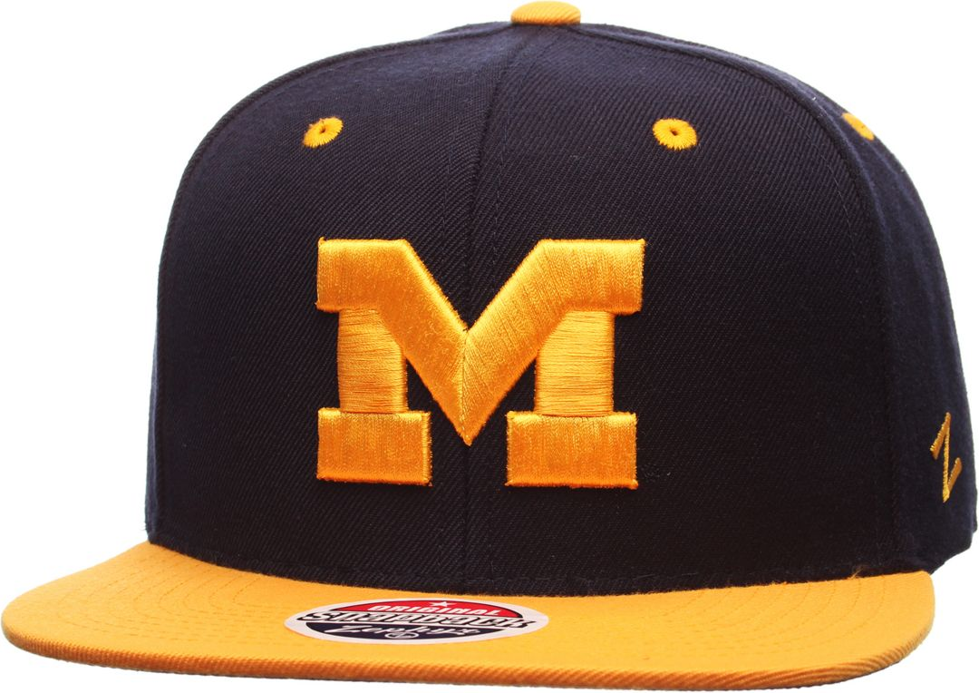 pretty nice fd08b 96dce Zephyr Men s Michigan Wolverines Blue Maize Z11 Snapback Hat. noImageFound.  Previous