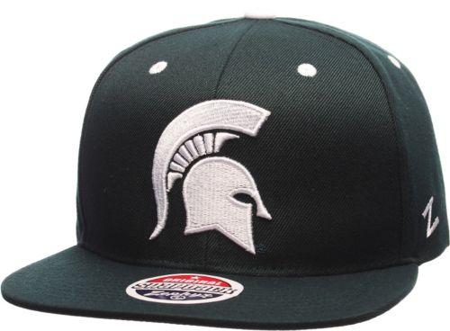 separation shoes 49d0a 68575 Zephyr Men s Michigan State Spartans Green Z11 Snapback Hat. noImageFound.  Previous