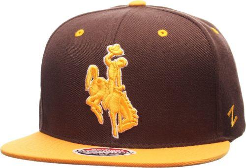 best sneakers 15b39 ca600 Zephyr Men s Wyoming Cowboys Brown Gold Z11 Snapback Hat   DICK S ...