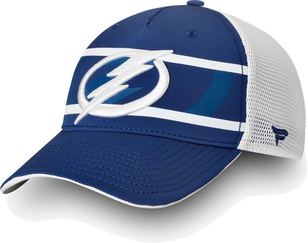 new product e98c8 e7862 NHL Men s Tampa Bay Lightning Authentic Pro Second Season Blue Trucker  Adjustable Hat 3