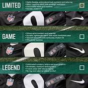 Nike Men's Dallas Cowboys Dak Prescott #4 White Limited Jersey product image