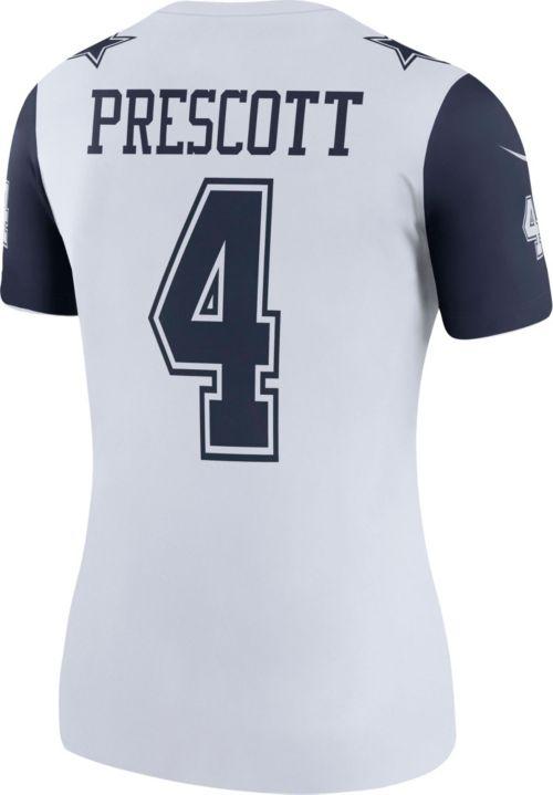 35cb5504d Nike Women s Color Rush 2017 Legend Jersey Dallas Cowboys Dak Prescott  4.  noImageFound. Previous. 1. 2. 3