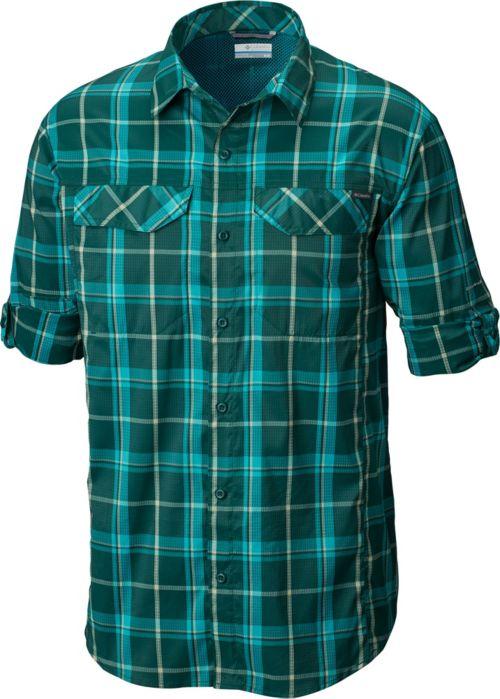 130ba0ed Columbia Men's Silver Ridge Lite Plaid Long Sleeve Shirt. noImageFound.  Previous. 1. 2. 3