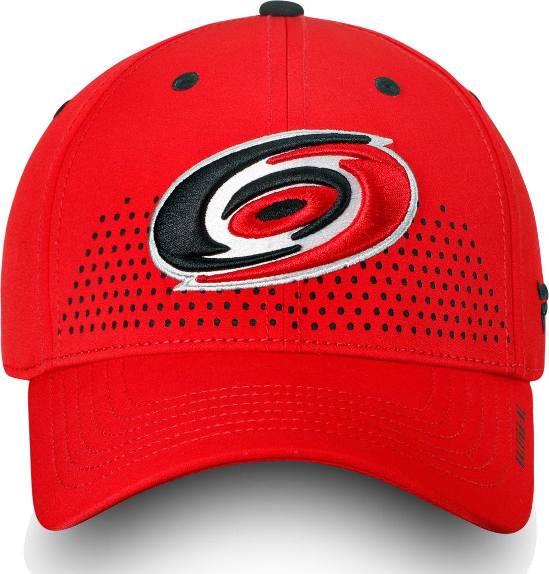 e1aa44f38ff92f NHL Men's Carolina Hurricanes 2018 NHL Draft Structured Red Flex Hat ...