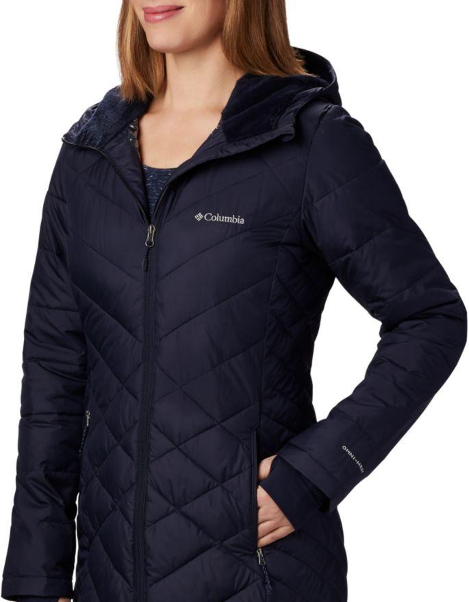 1b5f6812a Columbia Women's Heavenly Long Hooded Jacket