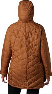 Columbia Women's Plus Heavenly Long Hooded Down Jacket product image