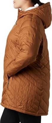 Columbia Women's Plus Heavenly Long Hooded Down Jacket ...