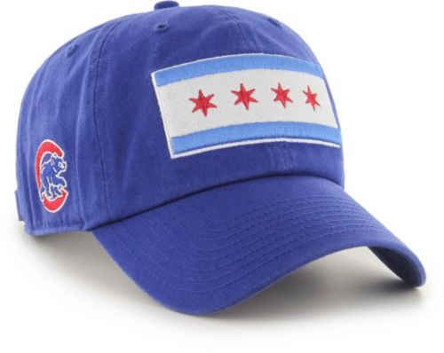 a58c8a46bf752 47 Men s Chicago Cubs Clean Up Royal Adjustable Hat