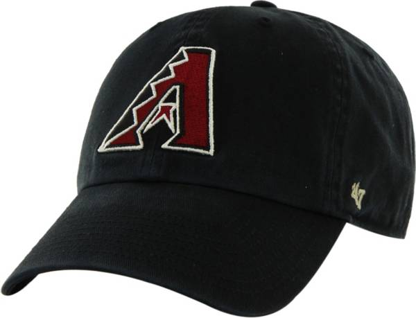'47 Men's Arizona Diamondbacks Clean Up Black Adjustable Hat product image