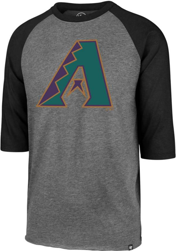 '47 Men's Arizona Diamondbacks Club Three-Quarter Sleeve Shirt product image