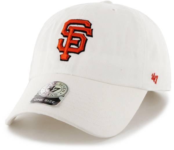 '47 Men's San Francisco Giants Clean Up White Adjustable Hat product image