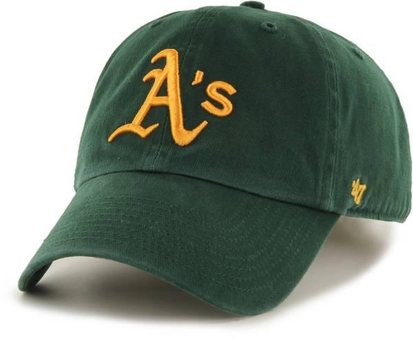 '47 Men's Oakland Athletics Clean Up Green Adjustable Hat product image