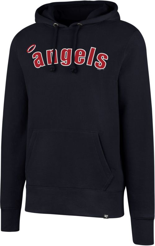 quality design 7e7a8 14d91  47 Men s Los Angeles Angels Headline Pullover Hoodie