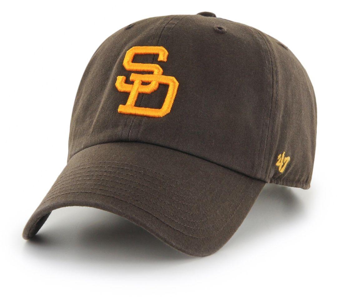 online store c3c7c 411e6  47 Men s San Diego Padres Clean Up Brown Adjustable Hat. noImageFound. 1