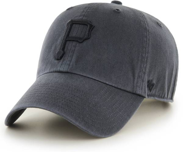 '47 Men's Pittsburgh Pirates Clean Up Grey Adjustable Hat product image