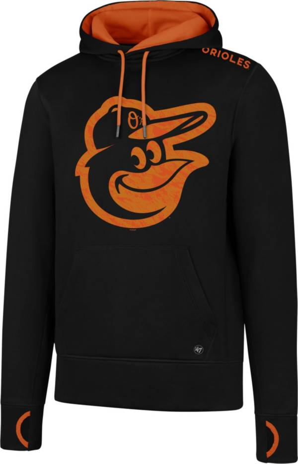 '47 Men's Baltimore Orioles Black Pullover Hoodie product image