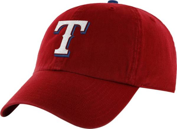 '47 Men's Texas Rangers Clean Up Red Adjustable Hat product image