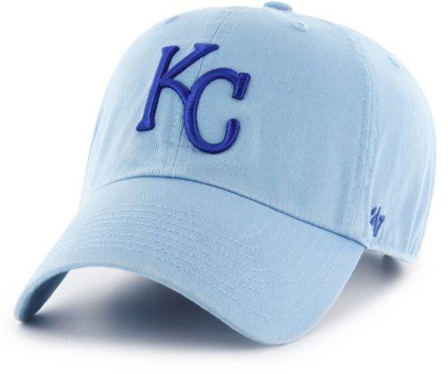 70b29b887b886  47 Men s Kansas City Royals Clean Up Blue Adjustable Hat. noImageFound. 1