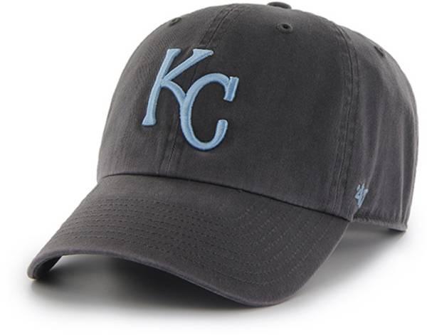 '47 Men's Kansas City Royals Clean Up Grey Adjustable Hat product image