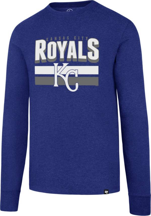 47 Men's Kansas City Royals Club Royal Long Sleeve T-Shirt product image