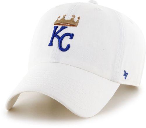 another chance fecaf c369a  47 Men s Kansas City Royals Clean Up White Adjustable Hat. noImageFound. 1