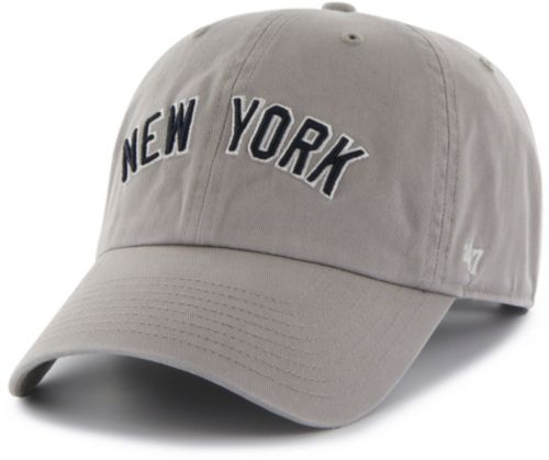 2ad2ad7db0ccc ... New York Yankees Clean Up Grey Adjustable Hat. noImageFound. 1