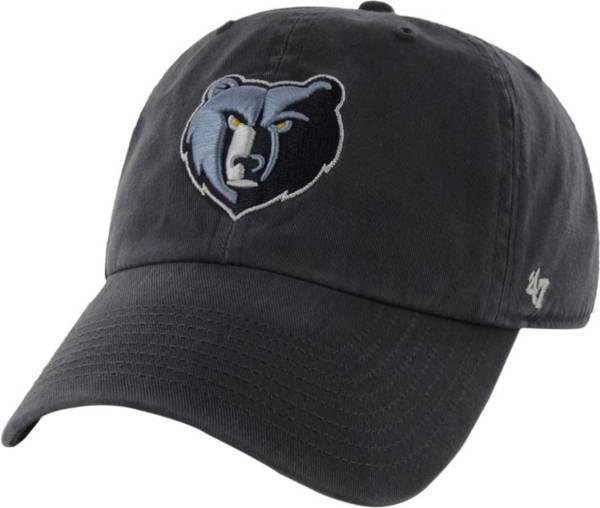 '47 Men's Memphis Grizzlies Navy Clean Up Adjustable Hat product image